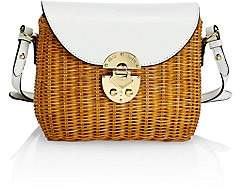 Miu Miu Women's Midollino Rattan & Leather Shoulder Bag