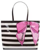 Harrods Stripy Bow Shoulder Bag