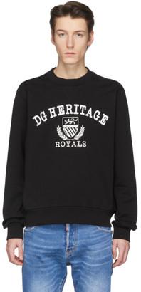 Dolce & Gabbana Black Heritage Sweatshirt