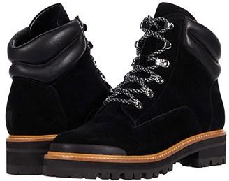 Marc Fisher Idaran (Black Suede) Women's Shoes