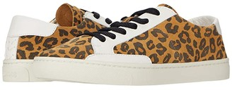 Soludos Ibiza Suede Sneaker (Leopard) Women's Shoes