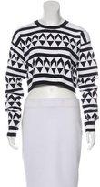 Edun Knit Cropped Sweater