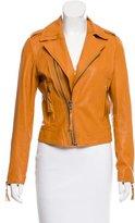 Joie Leather Asymmetrical Jacket