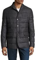 Allegri Soft Flannel Puffer Jacket