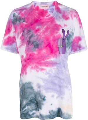 Natasha Zinko tie-dye print T-shirt