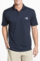 Cutter & Buck Men's Big & Tall 'Los Angeles Rams - Genre' Drytec Moisture Wicking Polo