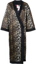 Ungaro leopard print coat