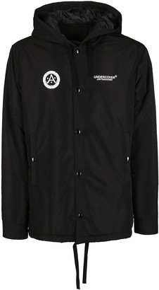 Undercover Chest Logo Printed Jacket
