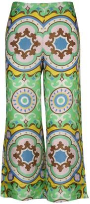 Maliparmi Collection Print Pants
