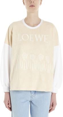 Loewe Logo Long Sleeve T-Shirt