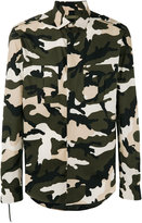 Valentino camouflage shirt - men - Cotton - 39