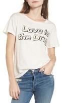 Junk Food Clothing Women's Love Is The Drug Tee