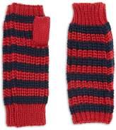Forever 21 FOREVER 21+ Striped Fingerless Gloves