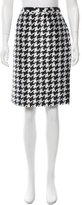 Moschino Houndstooth Pencil Skirt w/ Tags