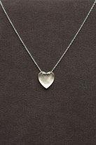 Tiny Heart w/Diamond in Silver