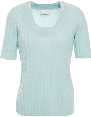 3.1 Phillip Lim Ribbed Cashmere-blend Top