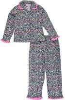 "Rene Rofe Little Girls' ""Ruffled Flannel"" 2-Piece Pajamas"