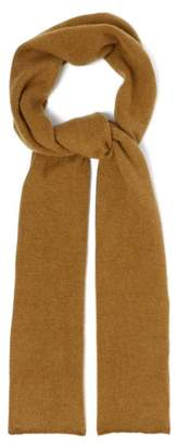 The Elder Statesman Super Duper Cashmere Scarf - Womens - Camel