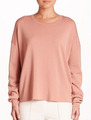 Theory Twylina Open Back Wool Sweater