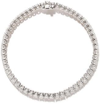 As 29 18k White Gold Cushion Diamond Bracelet