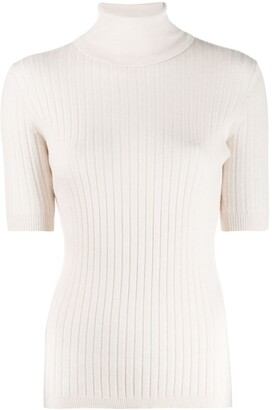 Cashmere In Love Roll-Neck Pullover Top