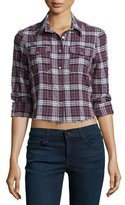 Elizabeth and James Buckley Shirt W/Frayed Hem