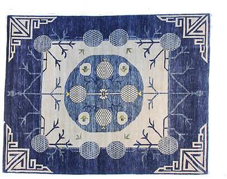 F.J. Kashanian 10'x14' Khotan Marissa Rug - Blue