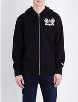 Billionaire Boys Club Mechanics fleece-lined cotton-jersey hoody