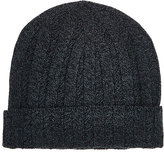 Barneys New York MEN'S RIBBED CASHMERE CAP