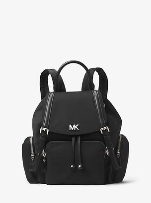 MICHAEL Michael Kors MK Beacon Medium Nylon Backpack - Black - Michael Kors