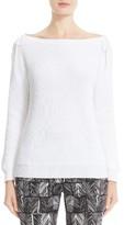 Max Mara Women's Lena Cotton Bateau Sweater