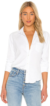 Frank And Eileen Barry Long Sleeve Button Down Top