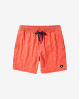 Express Sperry Invisible Critter Orange Swim Shorts