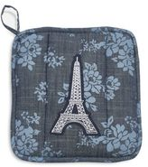 Sur La Table Floral Eiffel Tower Vintage-Inspired Pot Holder