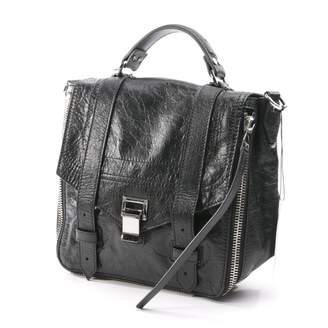 Proenza Schouler PS1 Backpack Black Leather Backpacks