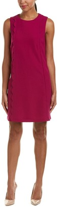Tahari by Arthur S. Levine Women's Sleeveless Round Neck Shift Dress