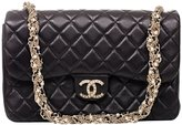 Chanel Authentic Lambskin Westminster Pearl Flap Bag Article: A94305 Y09157 Made in France