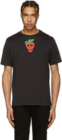 Paul Smith Black Strawberry Skull T-shirt