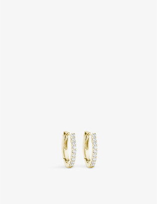 The Alkemistry 14ct yellow gold and diamond earrings, Yellow gold