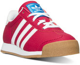adidas Little Girls' Samoa Casual Sneakers from Finish Line