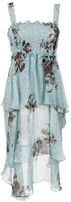 Clube Bossa midi silk dress