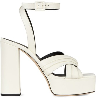 Giuseppe Zanotti Sinuosa leather sandals