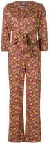 Vanessa Seward print belted jumpsuit
