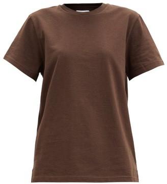 Bottega Veneta Cotton-jersey T-shirt - Dark Brown