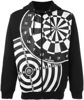 Love Moschino printed hoodie - men - Cotton - S