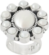 EXEX by Claudia Agudelo Exex Design By Claudia Agudelo Sterling Silver Gemstone Cluster Ring