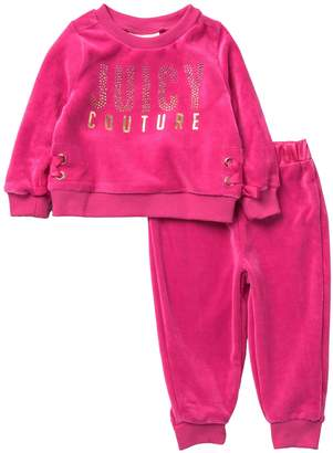 Juicy Couture 2-Piece Velour Set (Baby Girls)