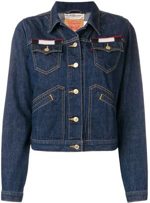 Jessie Western Back Patch Denim Jacket