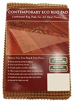 NaturalAreaRug Contemporary Eco Hold Rug Pad Earth Friendly Provides Extra Cushion For All Hard Surfaces of size 9' x 12'. Heavier and Thicker than Most Rug Pads