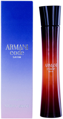Giorgio Armani Women's 2.5Oz Code Satin Eau De Parfum Spray